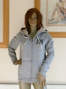 Jack Wills Femmes Pulborough Sweat neuf Taille 10UK Bleu Indigo