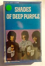DEEP PURPLE • Shades Of DEEP Purple •  Cassetta Mc •