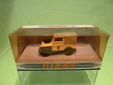 DINKY TOYS DY9B LAND ROVER 1949 - AA SERVICE - YELLOW 1:43 - GOOD IN BOX