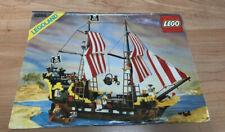 LEGO vintage pirates instructions 6285 Black Seas Barracuda en bon état
