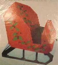Sleigh Christmas Needlepoint Kit Columbia Minerva New in Pack 8313