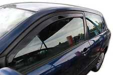 Toyota Corolla 3 door  2002-2007 Front wind deflectors 2pc set TINTED HEKO