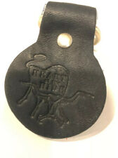 Rawlings Black Heart Of The Hide Hoh Leather Key Chain Keychain