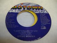 Soul 45 STEVIE WONDER I Just Called To Say I Love You on Motown