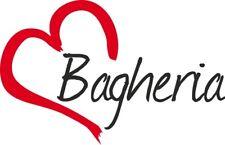 """Adesivo per auto """" BAGHERIA  """" (Città) cuore Sticker ca.9x14 cm taglio contorno"""