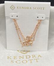 New Kendra Scott Rue Multi Strand Bracelet In Rose Gold