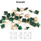 Genuine SWAROVSKI 4428 XILION Square Fancy Stones Crystals  Many Colors  Sizes