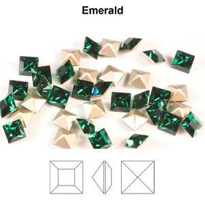 Genuine SWAROVSKI 4428 XILION Square Fancy Stones Crystals * Many Colors & Sizes