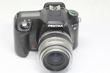 Pentax K K100D 6.1MP Digital SLR Camera Black pentax-fa 35-80mm F/4-5.6 Lens