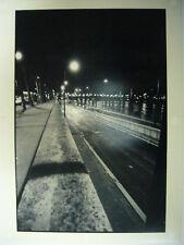 BENJAMIN MENASCE PHOTO PARIS INONDE 1999 TIRAGE ARGENTIQUE PRO SIGNE TBE
