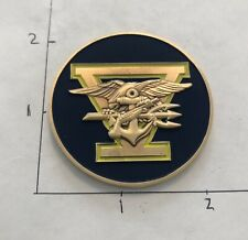 NAVY SEAL TEAM 5 Command V NSW USN CHALLENGE COIN Non CPO Or CHIEF FIVE