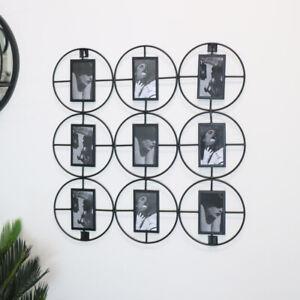 Black Multi Photo Display home decor modern gift wall art accessories