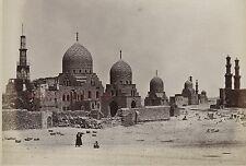 Egypte Le Caire Tombeaux des Califes Photo Tirage vers 1890 en petit format