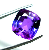 Ggl Certified 9.90 Ct Natural Radiant Cut Color Chaning Sapphire Gemstone