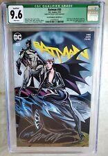 Batman #50 Campbell A Signed Exclusive COA D.C. 2018 CGC 9.6 NM+ WP Comic M0049
