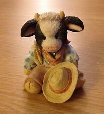 MARY'S MOO MOOS CHIP ORNAMENT (1993 Enesco) Excellent Condition
