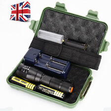 8000LM CREE XML T6 LED Zoom Zoomable Military Grade Tactical Flashlight Torch zz