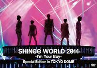 SHINee WORLD DVD 2014 I'm Your Boy Special Edition in TOKYO DOME *Japan new