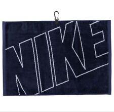 Nike Graphic Golfhandtuch Navy/Silber Orange/Weiß Schlägertuch Handtuch