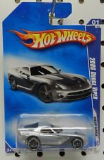 147 1 SILVER DREAM GARAGE 09 MOPAR 2006 06 DODGE BOYS VIPER COUPE HW HOT WHEELS