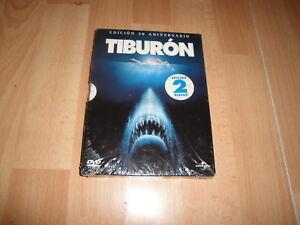 TIBURON TIBURÓN EDICION 30 ANIVERSARIO EN DVD CON 2 DISCOS NUEVO PRECINTADO