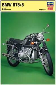 Hasegawa 52174 BMW R75/5 Motorcycle Model Kit 1/10