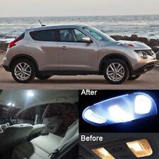 Xenon White LED Interior Light Kit Package For Nissan Juke 2011-2016 (6pcs)