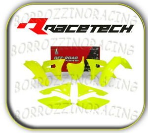 KIT PLASTICHE COMPLETE GIALLE FLUO HONDA CRF 450 2017-2018