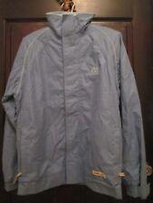 Harry Hall Blouson Jacket Blouson Unisex Shell Windbreaker - Light Blue, LARGE
