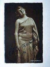 AUTOGRAFO Autograph DIRCE MARELLA attrice cinema muto silent movie foto 5