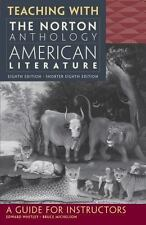 Norton Anth American Lit 8E Course Guide by Baym (2012, Paperback)
