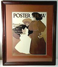 Maxfield Parrish Poster Show Framed and Matted Print Penn Academy of Fine Arts