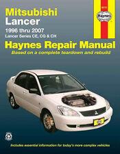 HAYNES SERVICE REPAIR WORKSHOP MANUAL BOOK MITSUBISHI LANCER CE CG CH 1996-2007