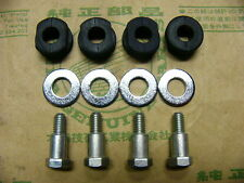 Honda CB 500 Four K0 K1 K2  Bolt, Rubber and Washer Set for number plate bracket