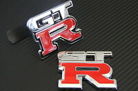Front Grill and Rear Boot Badges for GTR