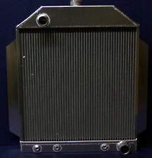 1948 1949 1950 1951 ford car aluminum radiator with a chevy motor  MADE IN USA