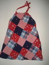 NWT Janie & Jack American Patchwork Red Dress 18-24 LR