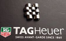 Tag Heuer Vintage 1000 & 844 Series Stainless Full Sized Spare Strap Links Rare