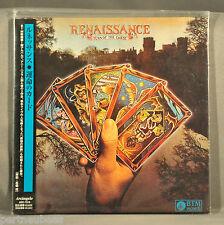 RENAISSANCE Turn Of The Cards JAPAN '02 Orig Ltd Mini LP CD OBI ARC-7016 NEW!!