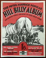 More details for the peter maurice  popular hill billy album. the sunset trail etc. – pub. 1934