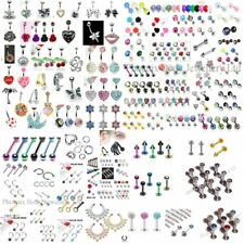 MIXED Lot 25 x NEW Body Jewellery Items - All Different - Clearance End of Lines