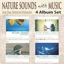 NATURE SOUNDS WITH MUSIC 4 CD Set: Loon Sounds WHALE SOUNDS OF NATURE --NEW CDS!