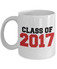 Class of 2017 Mug Gift for Graduate - Graduation Cup 2017 - White 11oz Ceramic