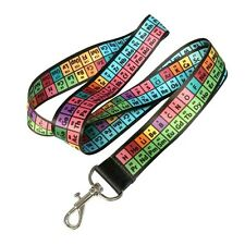 Periodic Table of Elements Lanyard