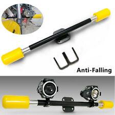 Motorcycle Bumper Drop AntiFalling Bar Rod Spotlight Bracket Frame Slider Stable