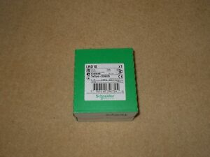 SCHNEIDER ELECTRIC OVERLOAD RELAY LRD10 TESYS - 034679 - 4 - 6A B/NEW IN BOX