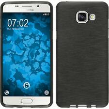 Funda de silicona Samsung Galaxy A5 (2016) A510 brushed plata
