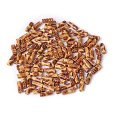 100pcs Mixed 2mm Hole Wooden Beads for Bracelet Jewelry Charms DIY Crafts Making