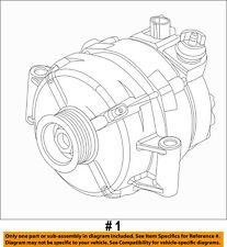 FORD OEM 10-14 F-150 6.2L-V8-Alternator AL3Z10346B