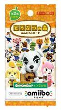 Animal Crossing Amiibo Card 2nd (1box 50 Packs) Nintendo Game Japan F/s